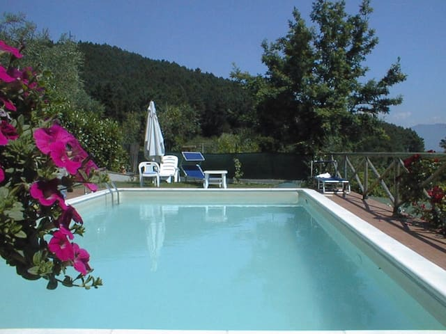 Lovely villa with panoramic pool - Lucca - Villa