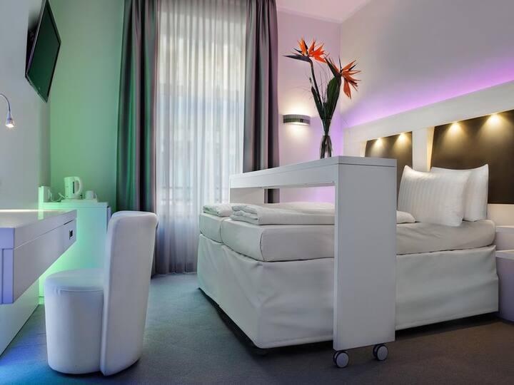 Business Doppelzimmer im Herzen Frankfurts
