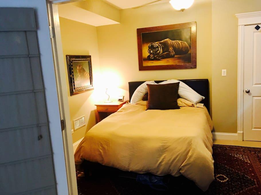 New bedroom layout
