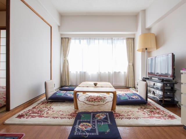 Spacious & Convenient for Osaka/Kyoto/Nara/Kobe