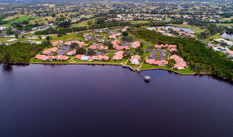 The Villa's of Sandpiper Bay.