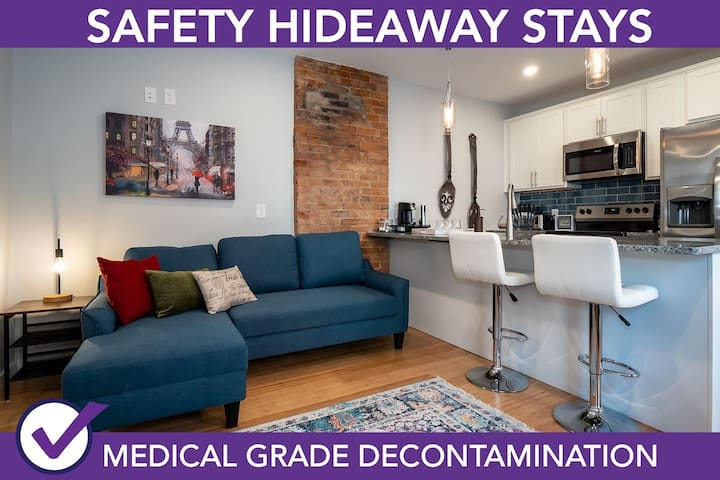 Safety Hideaway - Medical Grade Clean Home 58