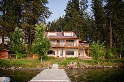 Smith House on Waitts Lake