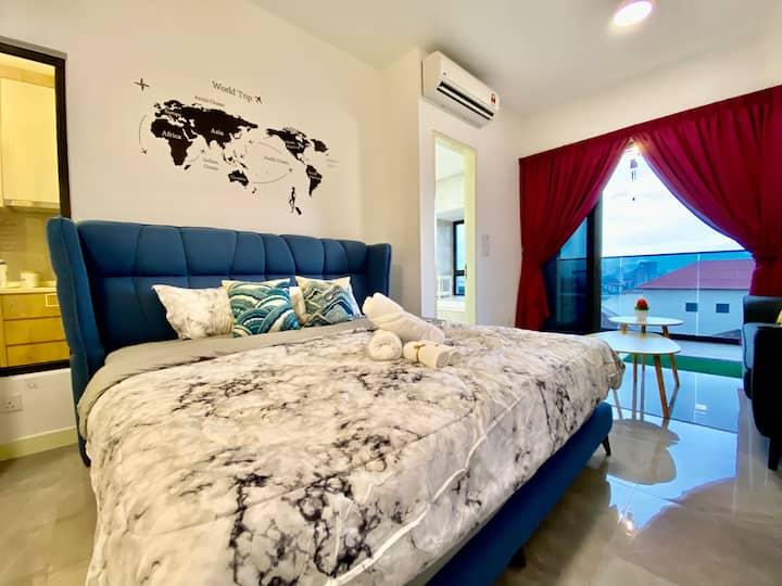 MWHolidayA1637 ComfortSuites+SeaView Balcony轻松舒适套房