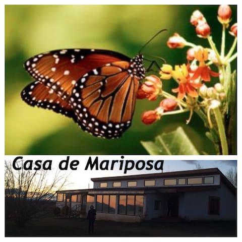 Casa de Mariposa in Arroyo Seco, New Mexico, is home to Mariposa Master Suite.