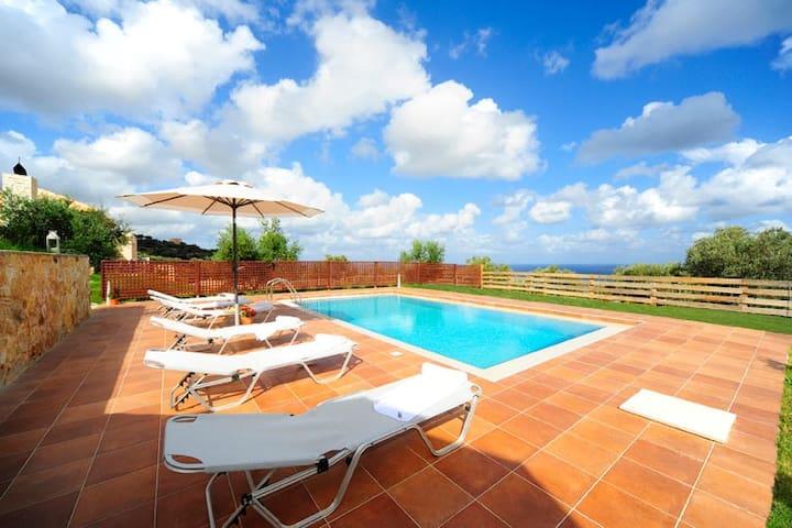 Breathtaking views of the Agean Sea-Kivotos villa - Maroulas - 別荘