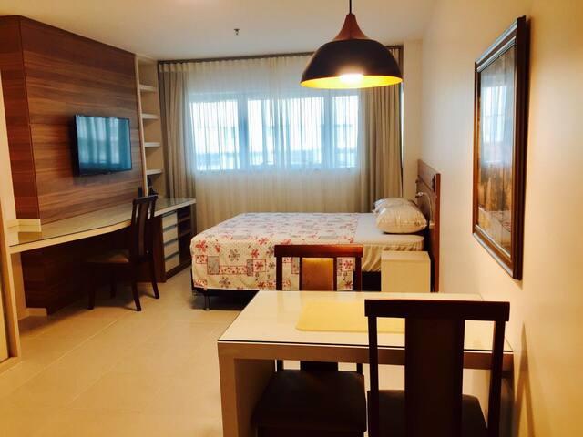 Flat aconchegante e confortável - ótima infra 2 - Brasília - Appartement