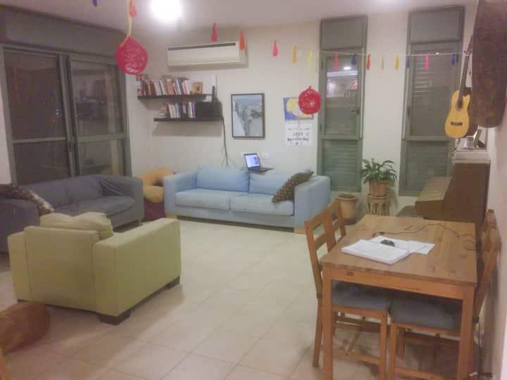 Room in a Kid-Friendly Tekoa House