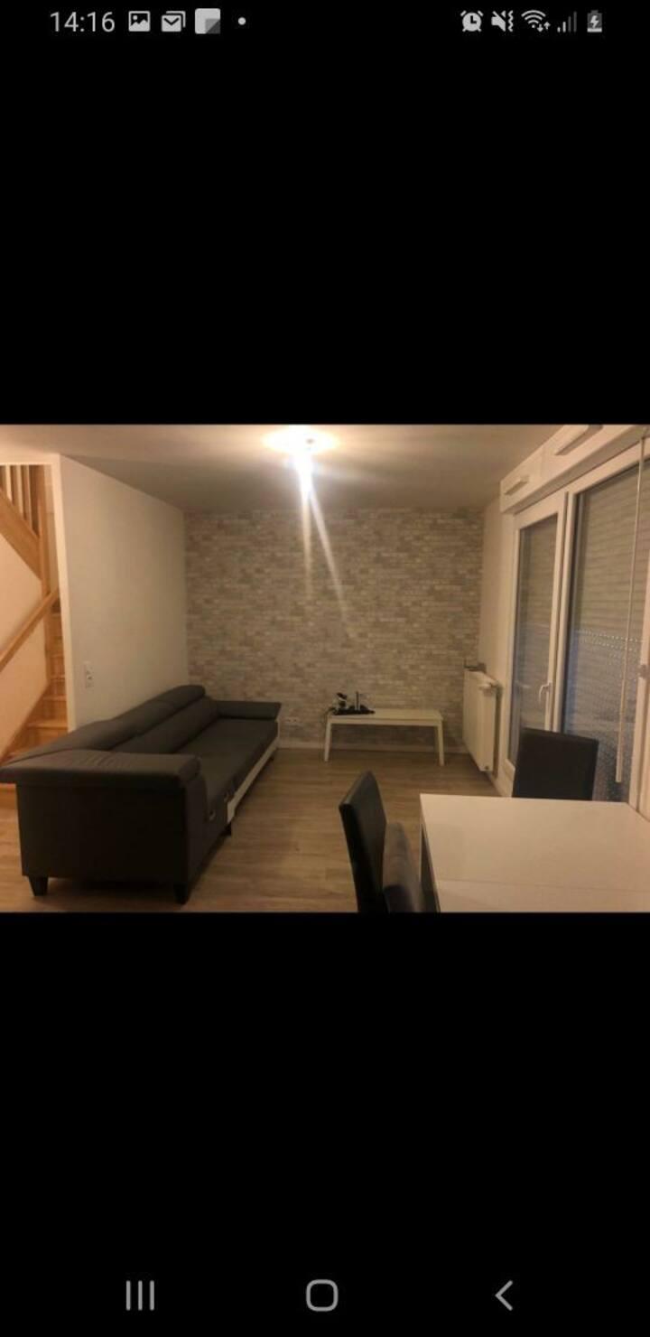 2 pièces en duplex 50 m2