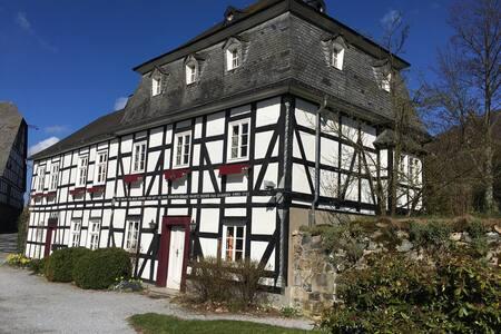 historische Rentmeisterei des Schloss Bruchhausen - Olsberg - Haus