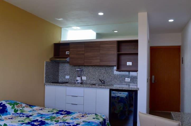 Loft 11 cerca ITESM Solares Residencial con cocina