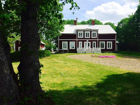 Big house in the Swedish countryside