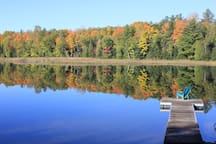 Fall at our cottage