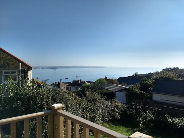 Tranquility overlooking the sea-Newlyn