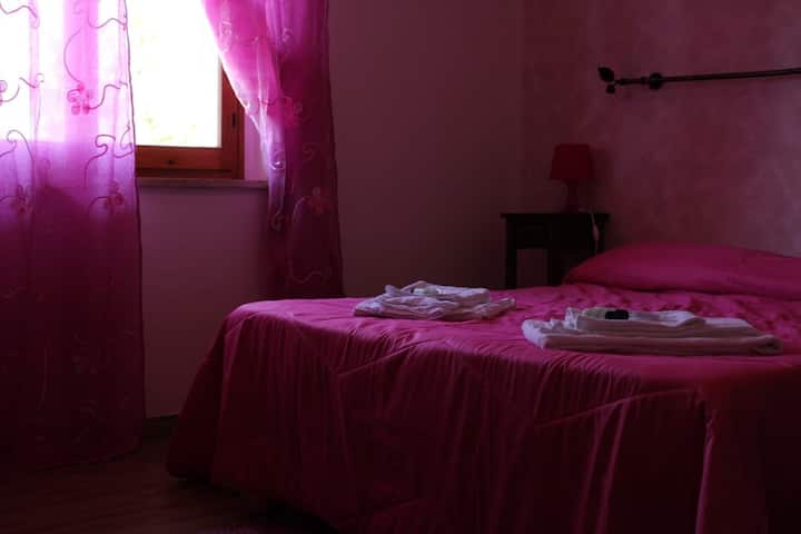 B&B Le Rocche in Val d'Orcia - Camera Rosa 2