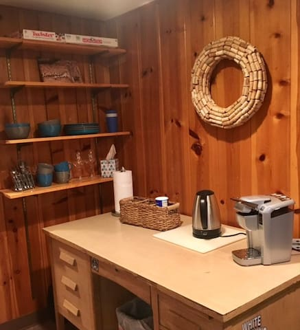 Coffee Station/Dishes