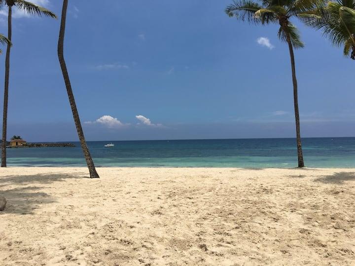 Studio vue mer,accès plage !
