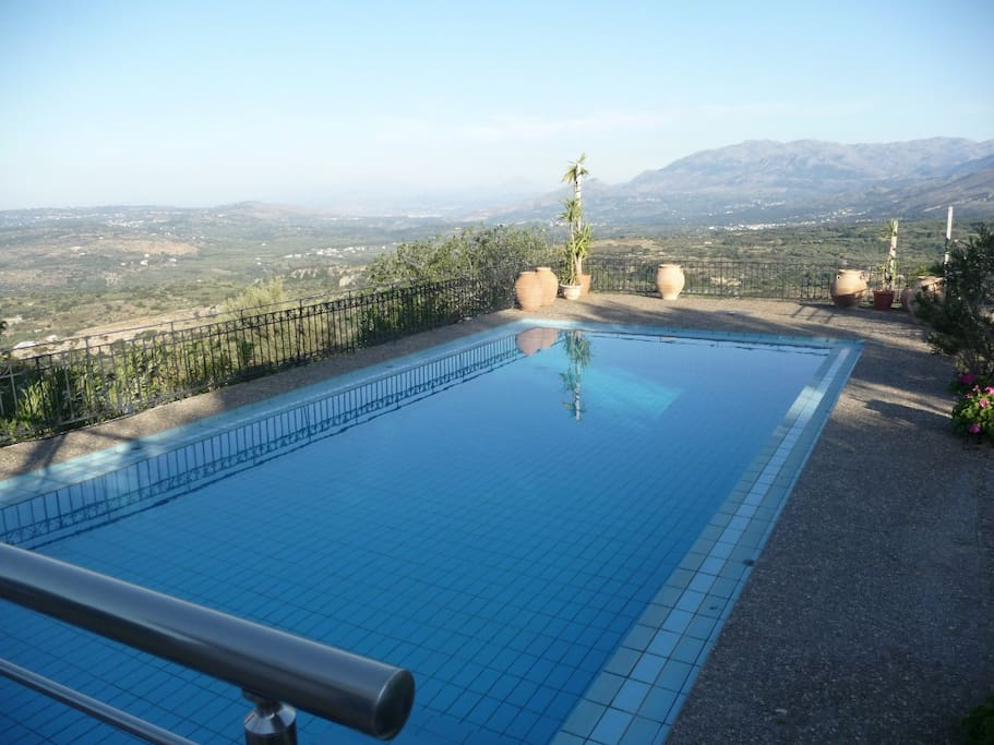 You can take in the views even whilst swimming...