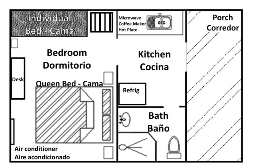 Casita floorplan