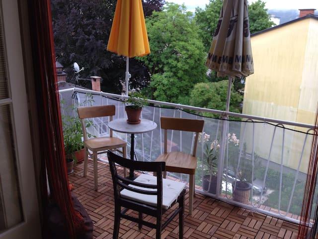 Ruhiges, gemütliches helles Zimmer - Klagenfurt - Appartement