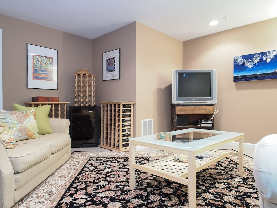 Rental includes your own Private Living Room!!
