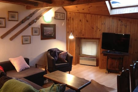 warm apartment for skiing - Osséja - Lägenhet