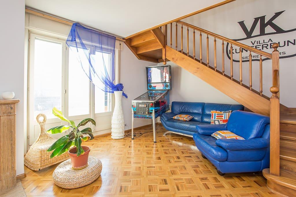 Big cozy apartment Sierre central