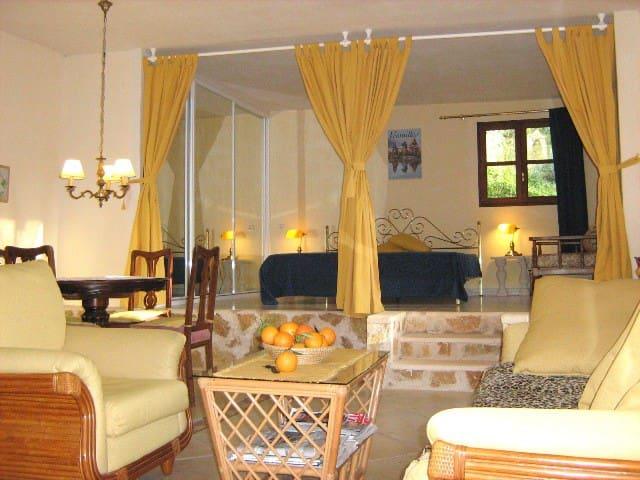 Finca Apartement Mallorca - Porreres - Apartamento
