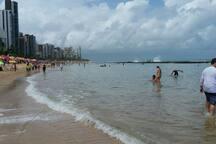 Praia de Boa Viagem.