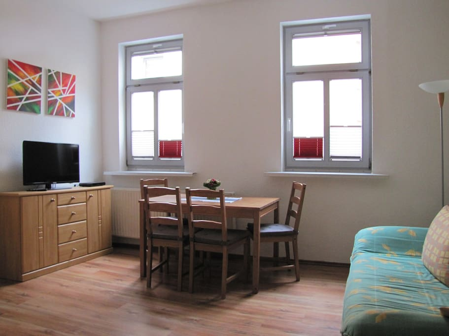 central in altstadt fewo hase flats for rent in erfurt thuringia germany. Black Bedroom Furniture Sets. Home Design Ideas