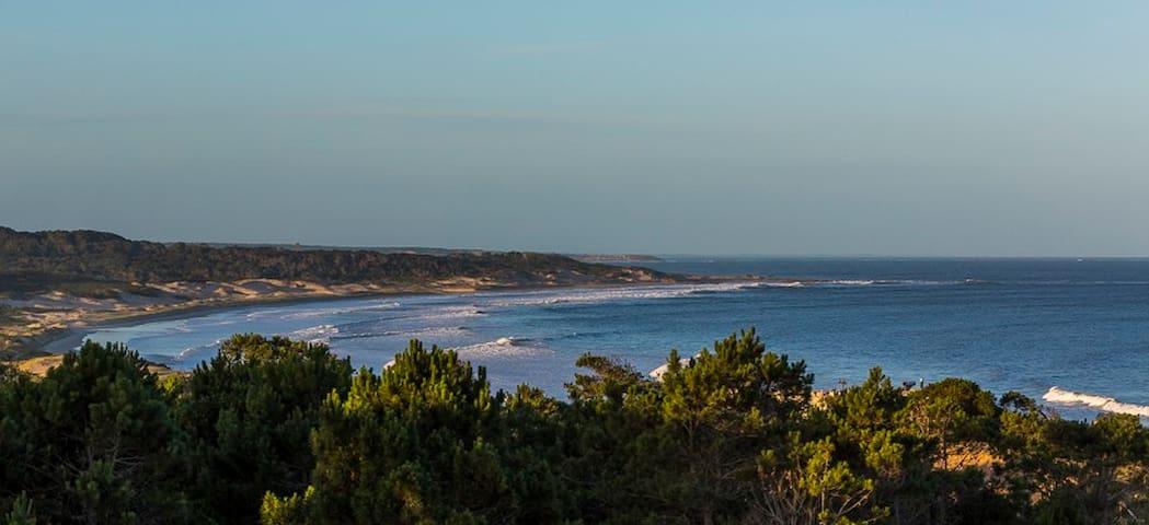 Vista de Playa Grande desde la terraza - View of Playa Grande from the room