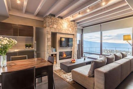 White Hills luxury villa A - Arachova
