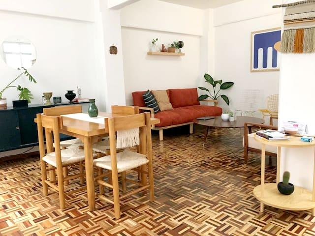 Cozy full apartment in la Roma