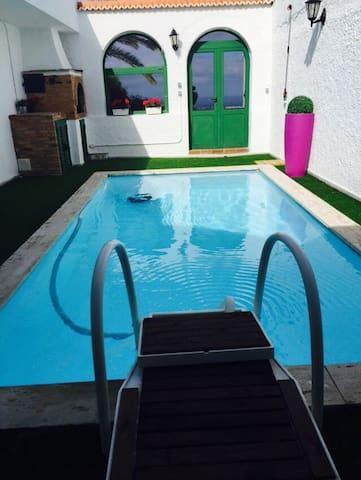 espectacular con piscina privada - Telde - Villa
