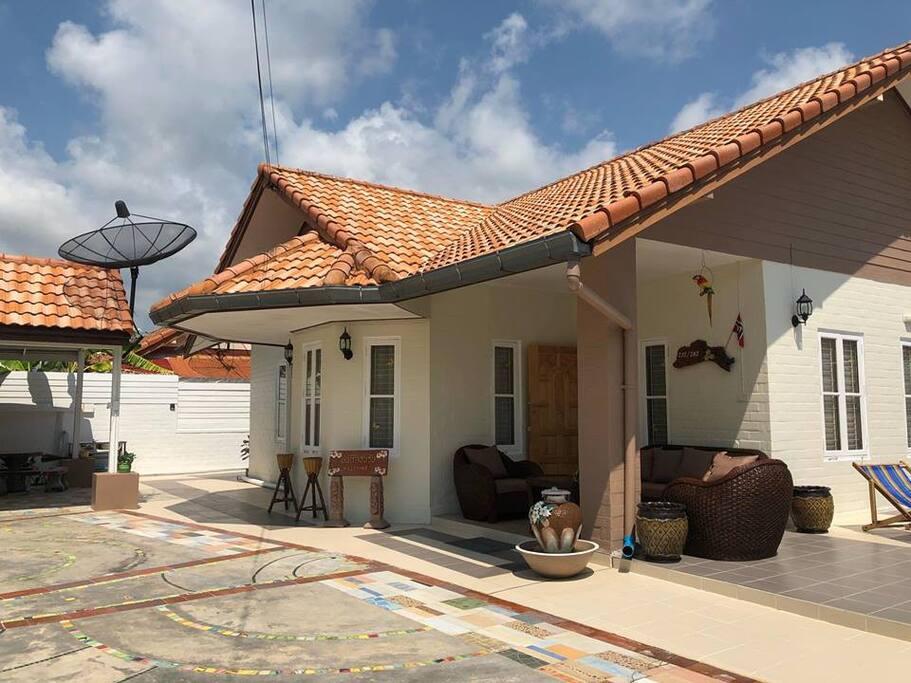 Our Thai home - 3 bedroom house, spacious garden.