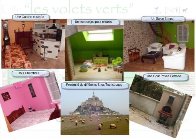 les volets verts - Vieux-Viel - House