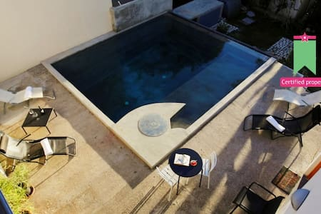 Private ROOM with bathroom and POOL - Torre Colonna-sperone