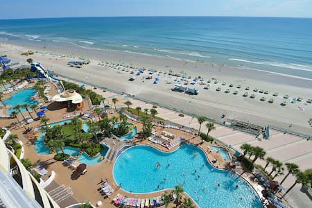 Oceanfront 7th Floor Luxury - 5 Star Resort, WiFi - Daytona Beach