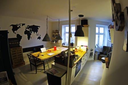 Cozy flat for Adults/Quiet for kids - København - Apartment