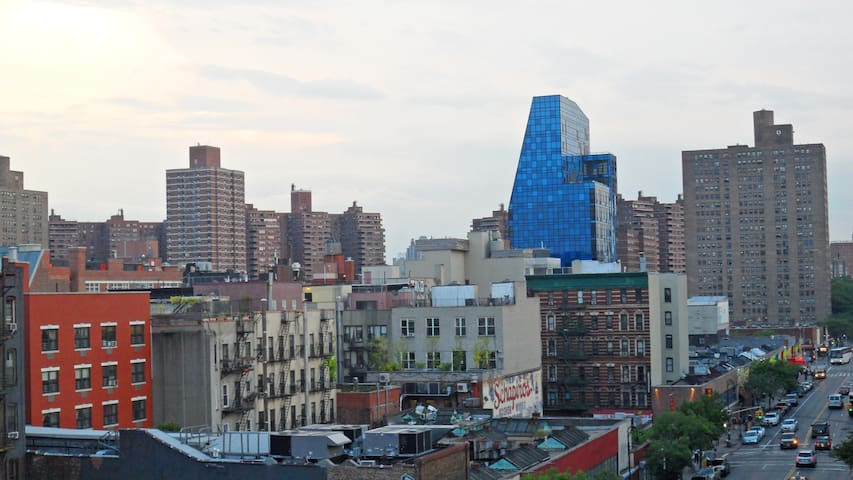 Another view from the roof - the Lower East Side