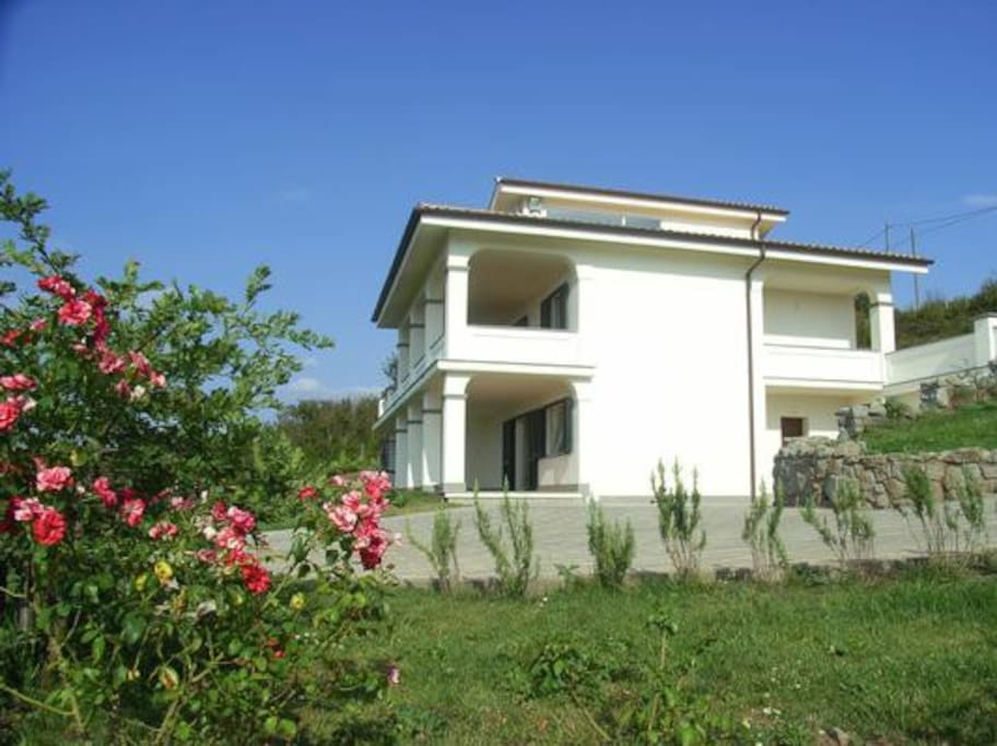 App. Bella Vista in ground floor of Villa Panorama