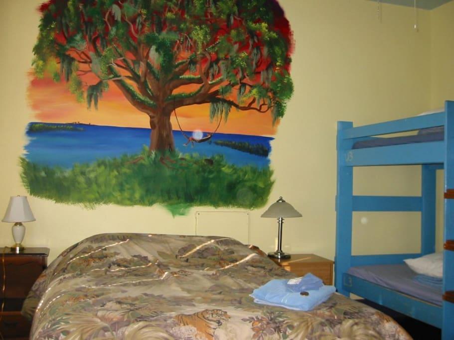 tree room (sleeps 6)
