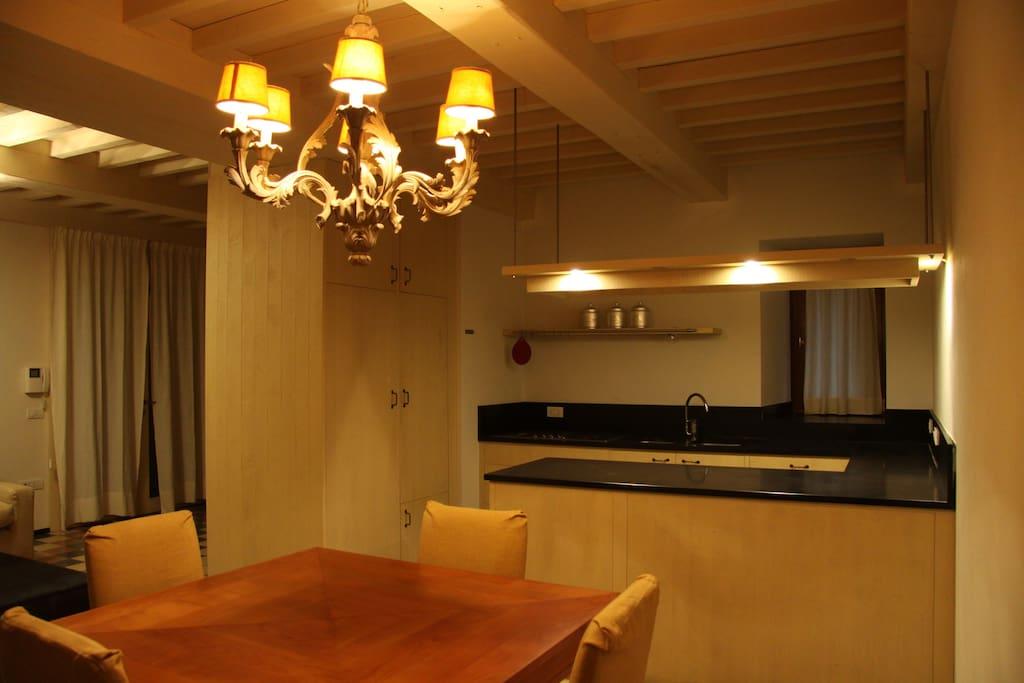 Pranzo/Cucina Casa Corsica