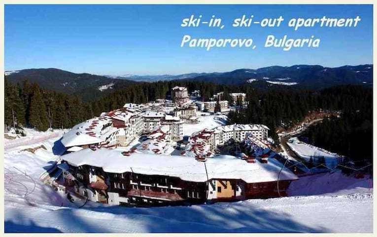 Cozy 2 Bed 2 Bath Apt on the slopes - Pamporovo  - Daire