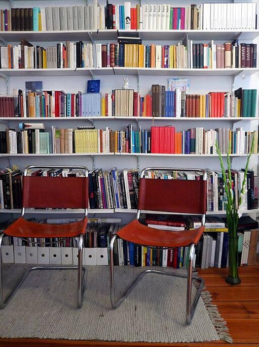 Bibliothek, Thonet-Freischwinger