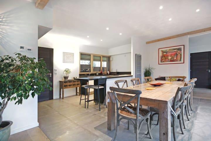 Charmante maison d'archi en bois - Yvetot - Huis