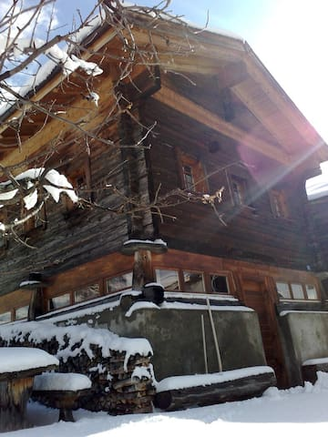 Exclusive Chalet in Valais Aletsch - Termen - บ้าน