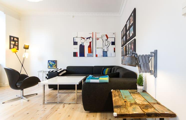 Nice and Big Apartment Copenhagen - Frederiksberg - Appartement