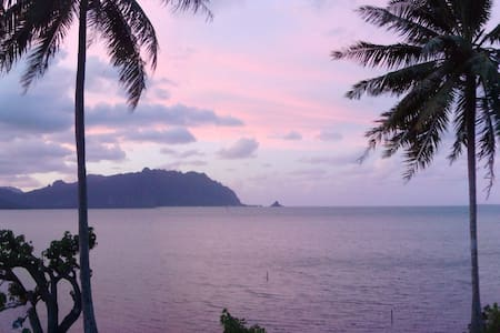 the Unspoiled Oceanfront loft - Kaneohe