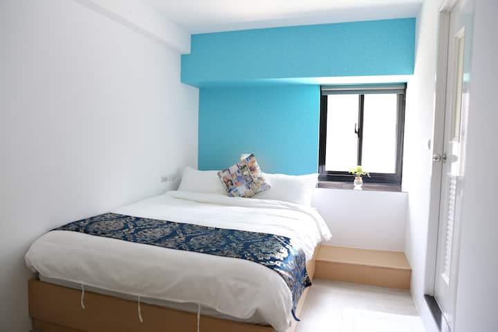 MRT 3min | 精緻雙人房 Exquisite double room